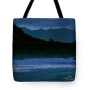 Waves In The Pacific Ocean, Waimea Bay Tote Bag