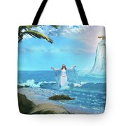 Waves Of Mercy Tote Bag