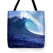 Waves Splashing In The Sea, Maui Tote Bag