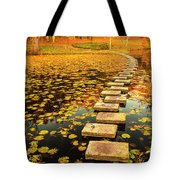 Way In The Lake Tote Bag by Evgeni Dinev