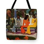 We Shall Not Go To Market Today 1892 Tote Bag