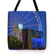 Wealthy At Waterfront Park Tote Bag