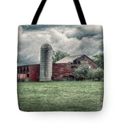 Weathered Worn And Standing Strong Tote Bag by Judy Hall-Folde