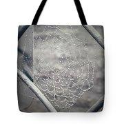 Web Dew Tote Bag