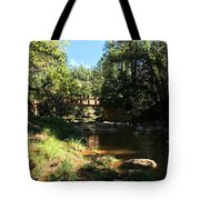 Webber Creek Bridge Tote Bag