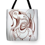 Weeping Woman With Prayer Beads Tote Bag by Anthony Falbo