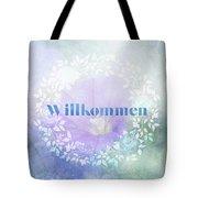 Welcome - Willkommen Tote Bag