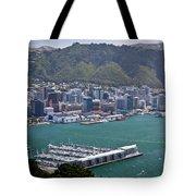 Wellington Nz Tote Bag