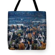 Wenatchee In November Tote Bag
