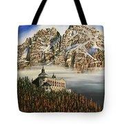 Werfen Austria Castle In The Clouds Tote Bag