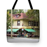 West End Grocery Store Tote Bag by Juan Contreras