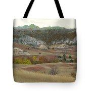 Western Edge Grasslands Grandeur Tote Bag