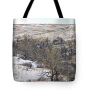 Western Edge Winter Hills Tote Bag