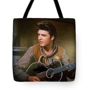 Western Ricky Nelson Tote Bag