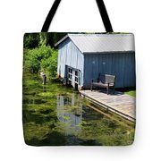 Westport Harbour In Southern Ontario Tote Bag