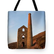 Wheal Coates Mine Chapel Porth Cornwall Tote Bag