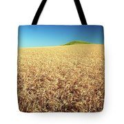 Wheat And Mounds Tote Bag