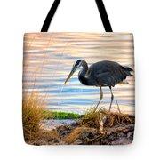 Wheeler Oregon - Great Blue Heron Tote Bag
