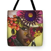 When African Eyes Are Smiling Tote Bag