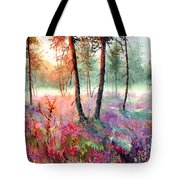 When Heathers Bloom Tote Bag