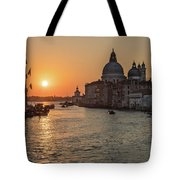 When The New Day Begins Tote Bag