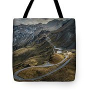 When You Get To The Top Tote Bag by Jaroslaw Blaminsky