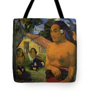 Where Are You Going 1892 Tote Bag