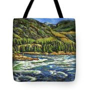 Where Waters Meet 3 Tote Bag