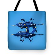 Which Way Is Up Tote Bag