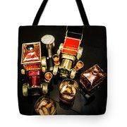 Whisky Wagons Tote Bag