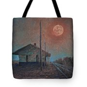 Whistle Of The Past Tote Bag