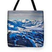 Whistler In Winter Tote Bag