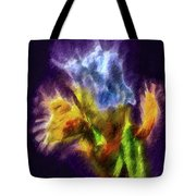 White Lily Bud #i0 Tote Bag by Leif Sohlman