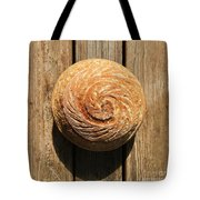 White Sourdough Spiral Tote Bag