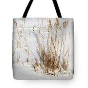 Whitehorse Winter Landscape Tote Bag