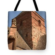 Whitekirk 12th Century Church Tower In East Lothian Tote Bag