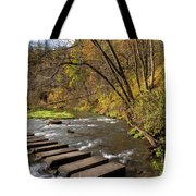 Whitewater River Scene 55 C Tote Bag