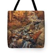 Whitney Portal Cascades Tote Bag by John Hight