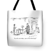 Who Won Today Tote Bag