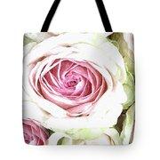 Wild Pink Roses Tote Bag