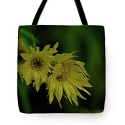 Wild Sunflowers In The Wind Tote Bag