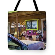 Wild West Hot Dog Place Tote Bag