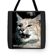 Wildcats Mascot 2 Tote Bag