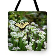 Wildflower Butterfly Tote Bag