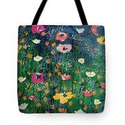 Wildflowers 2- Art By Linda Woods Tote Bag