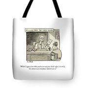 William Barr The Early Years Tote Bag