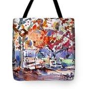 Williamsburg Color Tote Bag