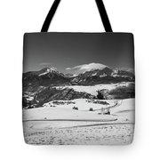 Wilson Mesa Winter Portrait Tote Bag