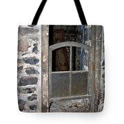 Window Below Tote Bag by Ann E Robson