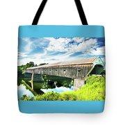 Windsor Cornish Bridge Tote Bag